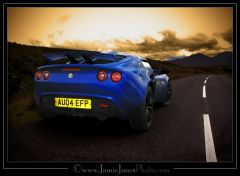 My Old Exige In Scotland