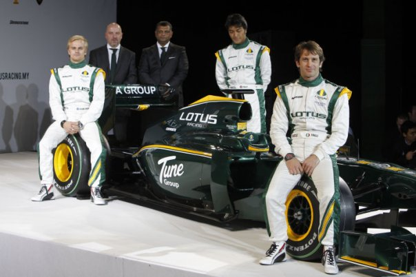 Lotus Racing Launch