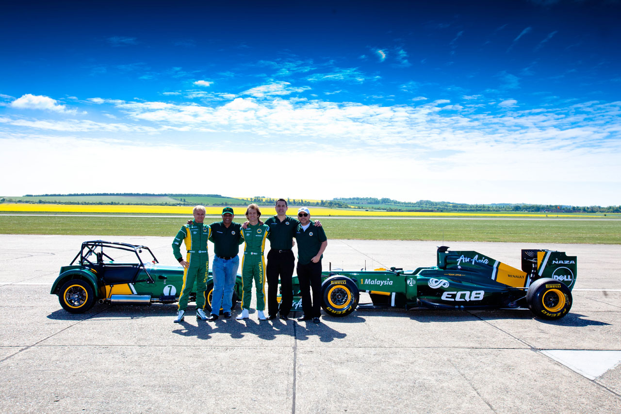 Team Lotus purchases Caterham