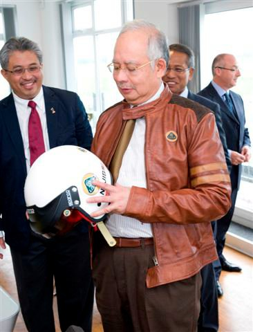 Prime Minister of Malaysia visits Group Lotus