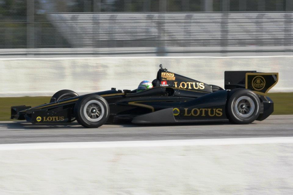 Lotus Power in the IZOD Indycar series