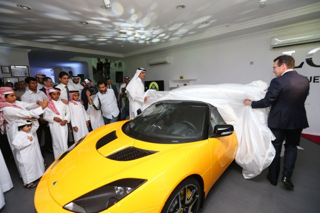 Lotus Qatar Showroom