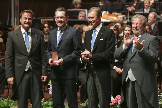 Jean-Marc Gales awarded Commander of the Order of Merit of Luxembourg