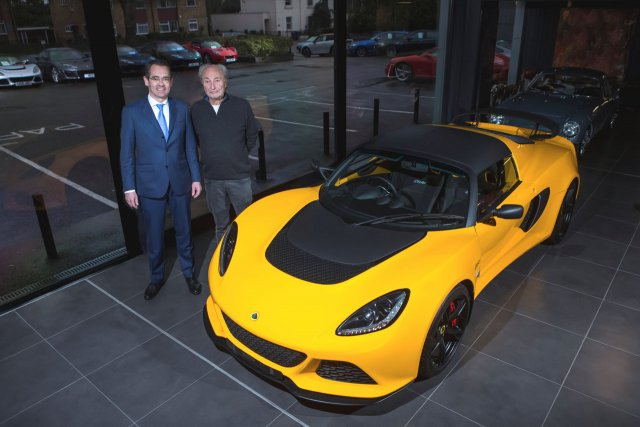 Hexagon opens new Lotus showroom