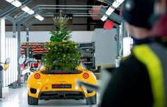 We wish you Merry Driftmas and a Hethel New Year